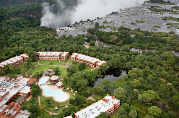 Your hotel is located close to the mighty Victoria Falls.