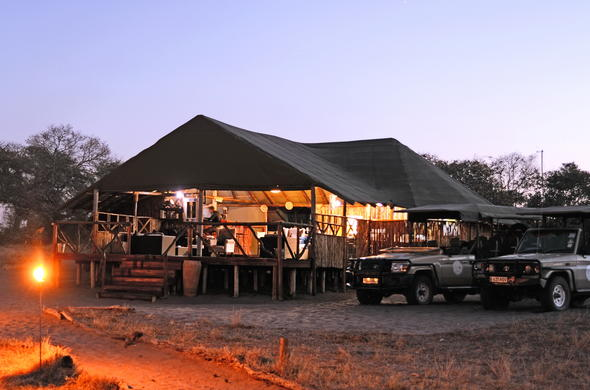 Camp Savuti in Chobe National Park.