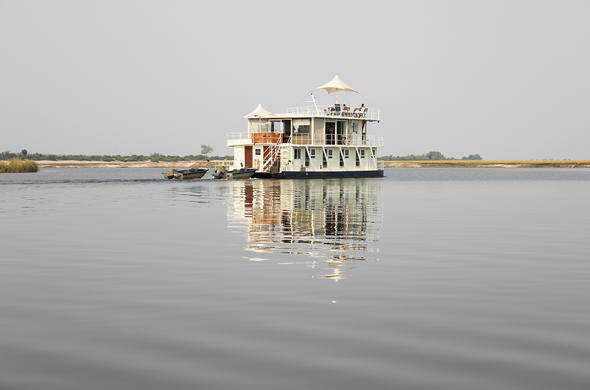 Chobe River house-boat excursion
