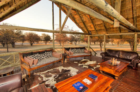 Delight in great bush views at Deception Valley Lodge.