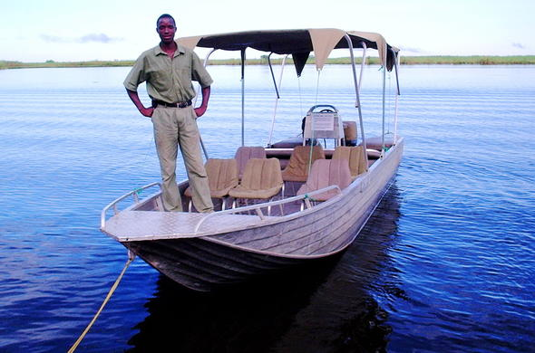 Enjoy boating safaris and water-based game viewing.