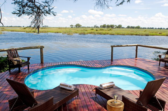 River views from your Botswana accommodation.