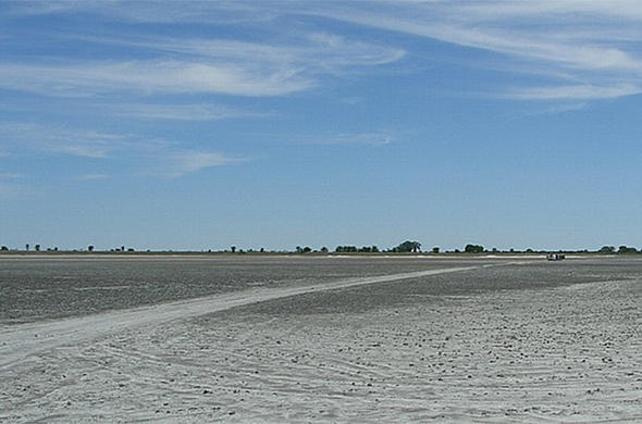 Pipers Pans in the Makgadikgadi