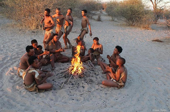 Very talented San people of botswana question how