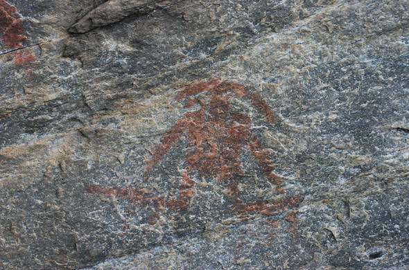 Tsodilo Hills rock art. Michael English
