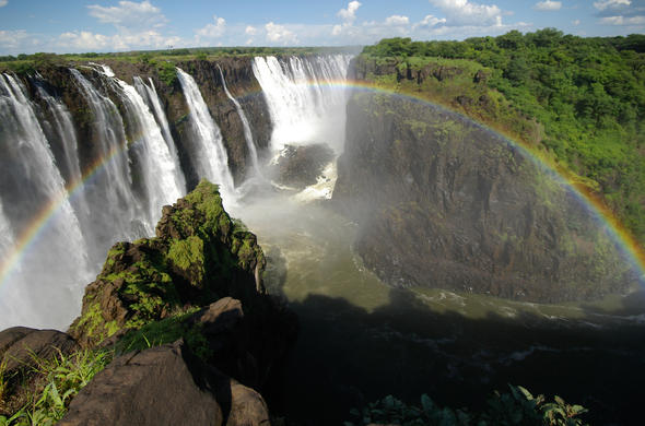 Optional tour of the Victoria Falls.